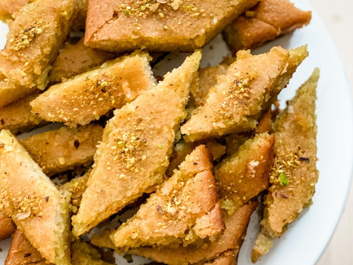 Persian Vegan Baghlava Cake