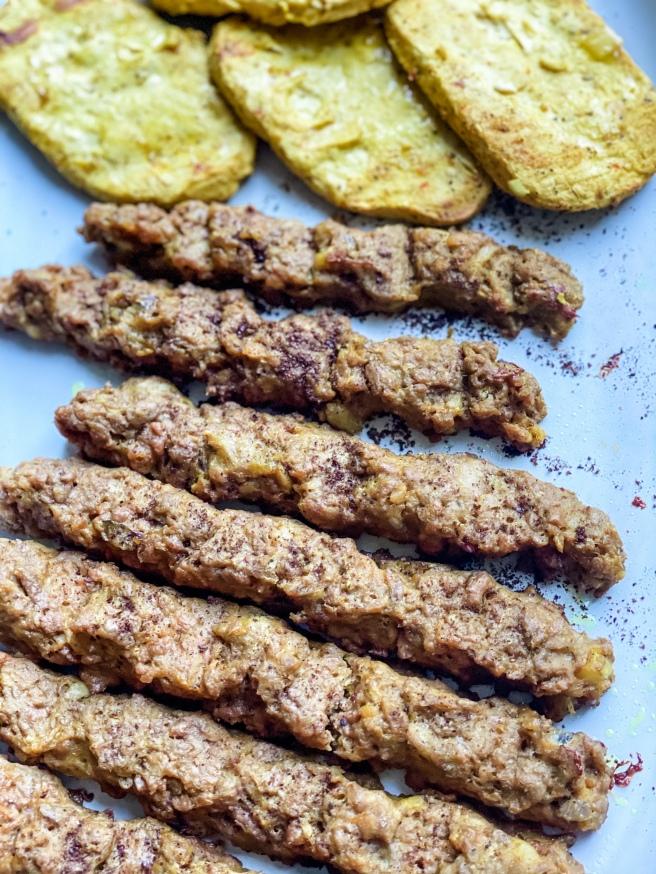 Vegan Persian Kabob - Vegan Joojeh Kabob