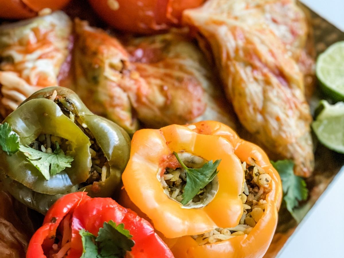 Persian Stuffed Vegetables Dolmeh