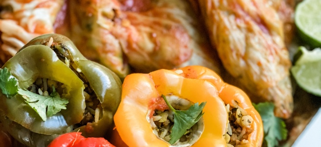 Persian Stuffed Vegetables Dolmeh